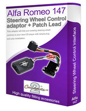 Alfa Romeo 147 car stereo adapter, Connect your Steering Wheel stalk controls