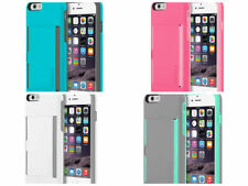 "New Incipio STOWAWAY Credit Card Case With Kickstand iPhone 6 -4.7"" Many Colors!"