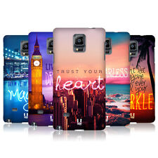 HEAD CASE DESIGNS WORDS TO LIVE BY SERIES 4 CASE COVER FOR SAMSUNG GALAXY NOTE 4