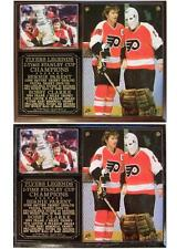 Bobby Clarke-Bernie Parent Philadelphia Flyers Stanley Cup Champs Photo Plaque