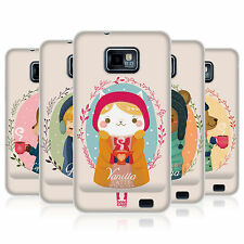 HEAD CASE WARMTH OF WINTER GEL BACK CASE COVER FOR SAMSUNG GALAXY S2 II I9100