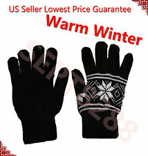 NEW Thinsulate Unisex Thermal Insulation Knit Winter Gloves Men Women Size Warm