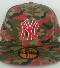 NWT New Era 59 Fifty New York Yankees MLB Camo Baseball Hat Cap Size 8