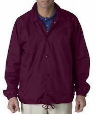 UltraClub Adult Nylon Coaches Jacket  8944