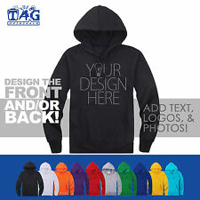 Custom Your Design *Picture Text* Personalised Men's Hooded Hoodies Women Couple