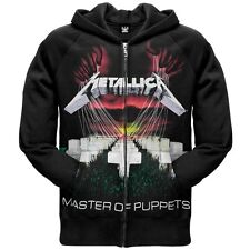 Metallica - Master Of Puppets Zip Hoodie Hooded Sweatshirt