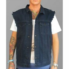 Religion Denim Sleeveless Jacket