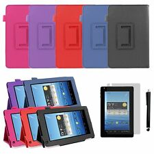 """FOLIO Leather Case Cover Skin for NEXTBOOK 7"""" Tablet NEXT7P12-8G + SCREEN + PEN"""