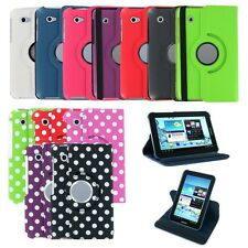 """360 Rotating PU Leather Case Cover Skin Stand for Samsung Galaxy Tab 2 7"""" P3100"""