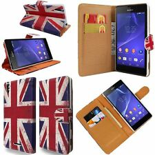 Union Jack Printed PU Leather Wallet Flip Case Cover For Various Mobile Phones