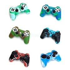 Silicone Skin Case Cover for Sony Playstation PS2 PS3 Wireless Game Controller