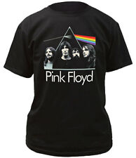 Pink Floyd Dark Side Of The Moon Band Photo Adult T-Shirt
