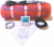 Electric Underfloor Heating Mat 200W/M²  Thermostat - Full Size Range Available