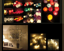 Battery Powered 20/30LED Fairy Lights Christmas garden party Decorations 6 color