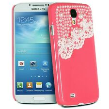 Deluxe Hand Made Lace and Pearl Hard Case Cover  for Samsung Galaxy S4 IV i9500