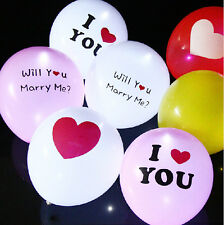 Multi-Pictures LED Latex Balloons Wedding Lovers' Festival Celebration Tool