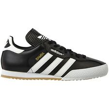 ADIDAS ORIGINALS SAMBA SUPER BLACK SHOES TRAINERS UK 7-12 FOOTBALL STYLE RETRO