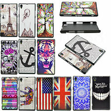 Ultra Thin Hard Snap-on Mobile Phone Shell Cover Case For Sony Xperia Z1 L39h