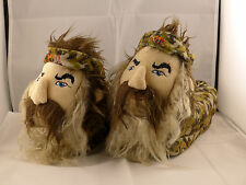 Duck Dynasty Slippers Uncle Si Phil Robertson Faux Fur A&E Free Shipping!!!