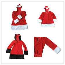 Women Sexy Santa Claus Christmas Costume Party Girls Outfit Dresses