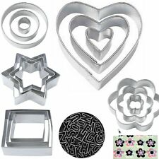 Stainless Steel Cookie Biscuit Pastry Cake Decorating Mold Mould Cutter Xmas New