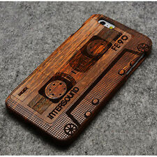 Real Natural Bamboo Wood Wooden Hard Cover Case Shell for iPhone 6 4.7''/6 Plus