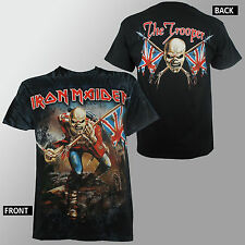 Authentic IRON MAIDEN Eddie The Trooper ALLOVER T-Shirt S M L XL NEW