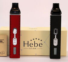 Authentic Hebe Titan 2, Titan II Vaporizer Kit for Flowers & Concentrates!