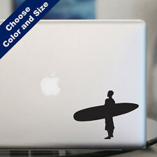 Standing Surfer Decal for Car or Laptop