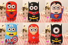 Multi-Style 3D Cartoon Rabbit Silicone Soft Gel Rubber Case Cover For Phone CR2D