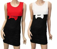 WOMENS UK SIZE 8-14 MICAHEL KORS SMART CASUAL OFFICE BOW TIE PARTY BODYCON DRESS
