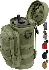 Military MOLLE Travel Water Bottle Carry Pouch
