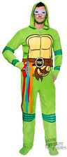 Teenage Mutant Ninja Turtles Hooded footie Pajama Licensed Union Suit S-XXL