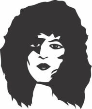 FACES #10 PAUL STANLEY MUSIC BAND ROCK VINYL AUTO CAR WINDOW DECAL STICKER