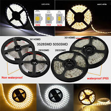 3528/5050/2835/3014/5630 5M 300/600/1200LEDs Flexible Strip Light Non/Waterproof