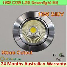 11, 16, 20W 180° Dim or non-Dim LED Downlight Kit -Warm, Daylight or Cool White