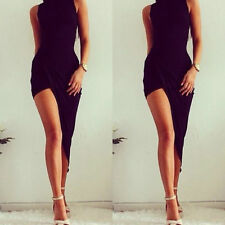 Sexy Women Sleeveless Bandage Bodycon Evening Party Cocktail Long Maxi Dress
