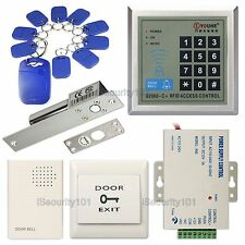 Access Control Door Home Entry Keypad RFID Card System Electric NC Deadbolt Lock