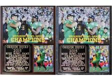 Oregon Ducks 2015 Rose Bowl Game Champions Photo Plaque