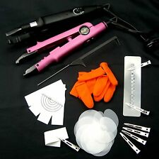 HOT FUSION WAND CONNECTOR TOOLS KIT FOR INSTALLATION PRE-BONDED HAIR EXTENSION