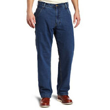 Key Industries 456 Men's Flannel Lined Denim Dungaree Relaxed Fit