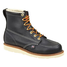 """Thorogood 814-6201 Men's Black 6"""" American Heritage Non Safety Toe Work Boots"""