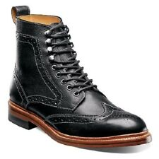 Stacy Adams Men's Madison II Leather Ankle Casual Boots Black 00064