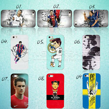 Paint Football Star #C212 PC Hard Case Cover For iPhone 4/5/6 Samsung Galaxy HOT