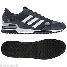 adidas ORIGINALS MENS ZX 750 UK SIZE 7 8 9 10 11 BLUE RUNNING TRAINERS SHOES NEW