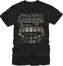 GAS MONKEY GARAGE FLAG FILLED TV SHOW BLOOD SWEAT BEERS RIDES T TEE SHIRT S-2XL