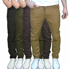 Twisted Faith T900 Mens Designer Slim Fit Chinos - Available in 4 Colours, BNWT