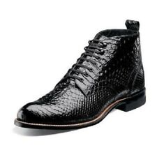 Stacy Adams Men's Madison Lace Up Dress Leather Ankle Boots Black 00057