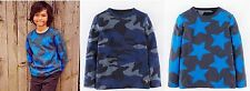 Boys top MINI BODEN T shirt long sleeve baby 2 3 4 5 6 7 8 9 10 11 12 years NEW!