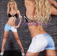 NEW SEXY LADIES DESTROYED JEANS SHORTS short jean pants MINI RIP DENIM HOTPANTS